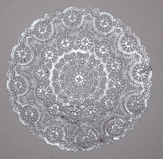 Silver Doilies Inspirational 10 Metallic Silver Paper Doilies Medallion by Of Top 47 Pictures Silver Doilies