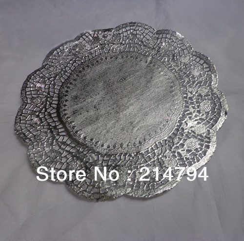 Silver Doilies Inspirational 3600pcs Lot =36 Packs 4 5 Silver Round Paper Lace Rose Of Top 47 Pictures Silver Doilies