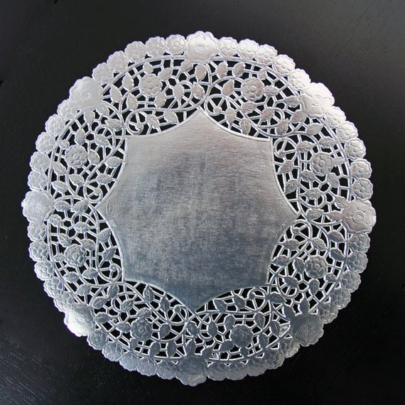Silver Doilies Luxury 10 Decorative Silver Metallic Doilies 10 Quantity Of Top 47 Pictures Silver Doilies