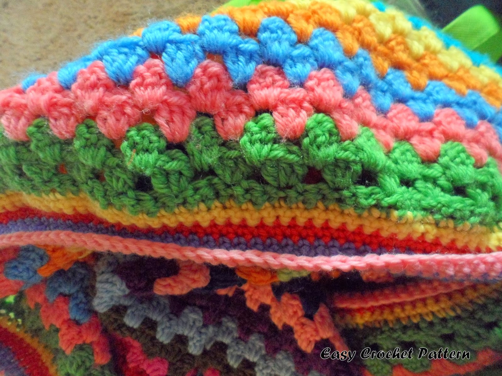 Simple Crochet Afghan Patterns Awesome Easy Crochet Pattern Granny Stripe Afghan Chart Of Innovative 49 Pics Simple Crochet Afghan Patterns