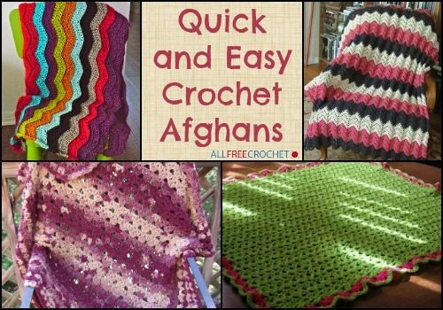 Simple Crochet Afghan Patterns New 42 Quick and Easy Crochet Afghans Bonus Video Of Innovative 49 Pics Simple Crochet Afghan Patterns