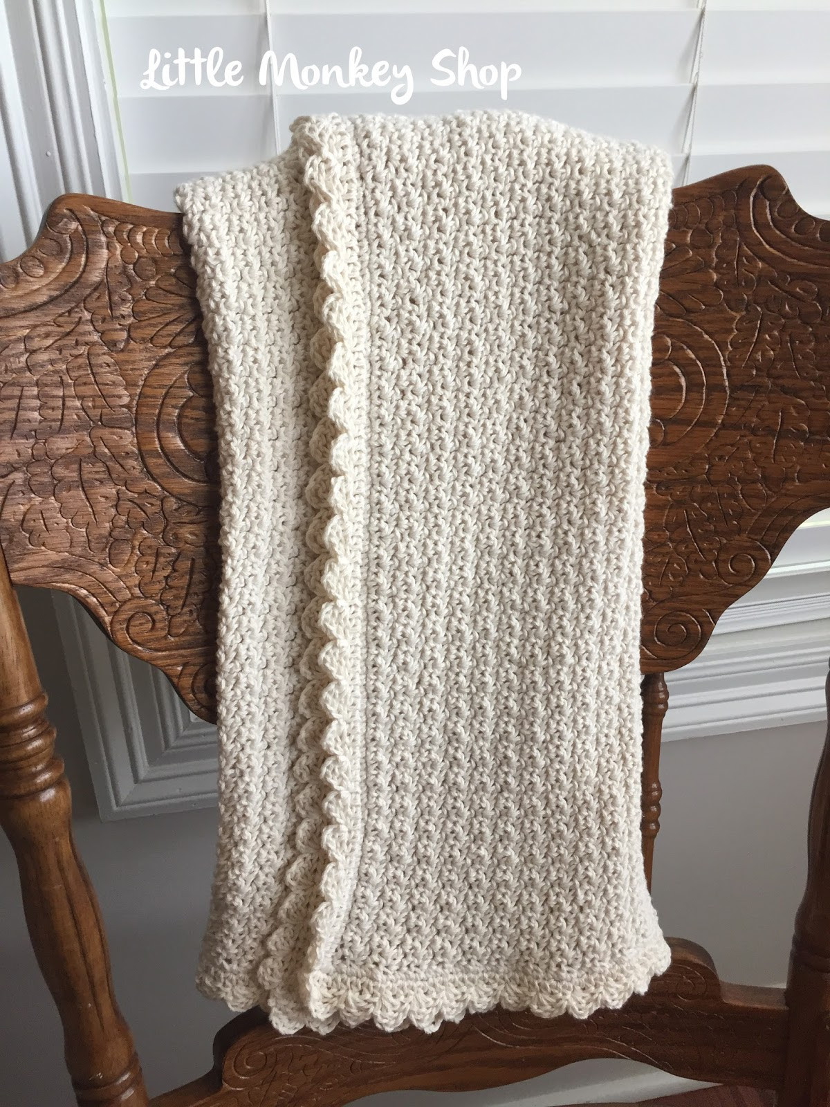 pure and simple baby blanket simply