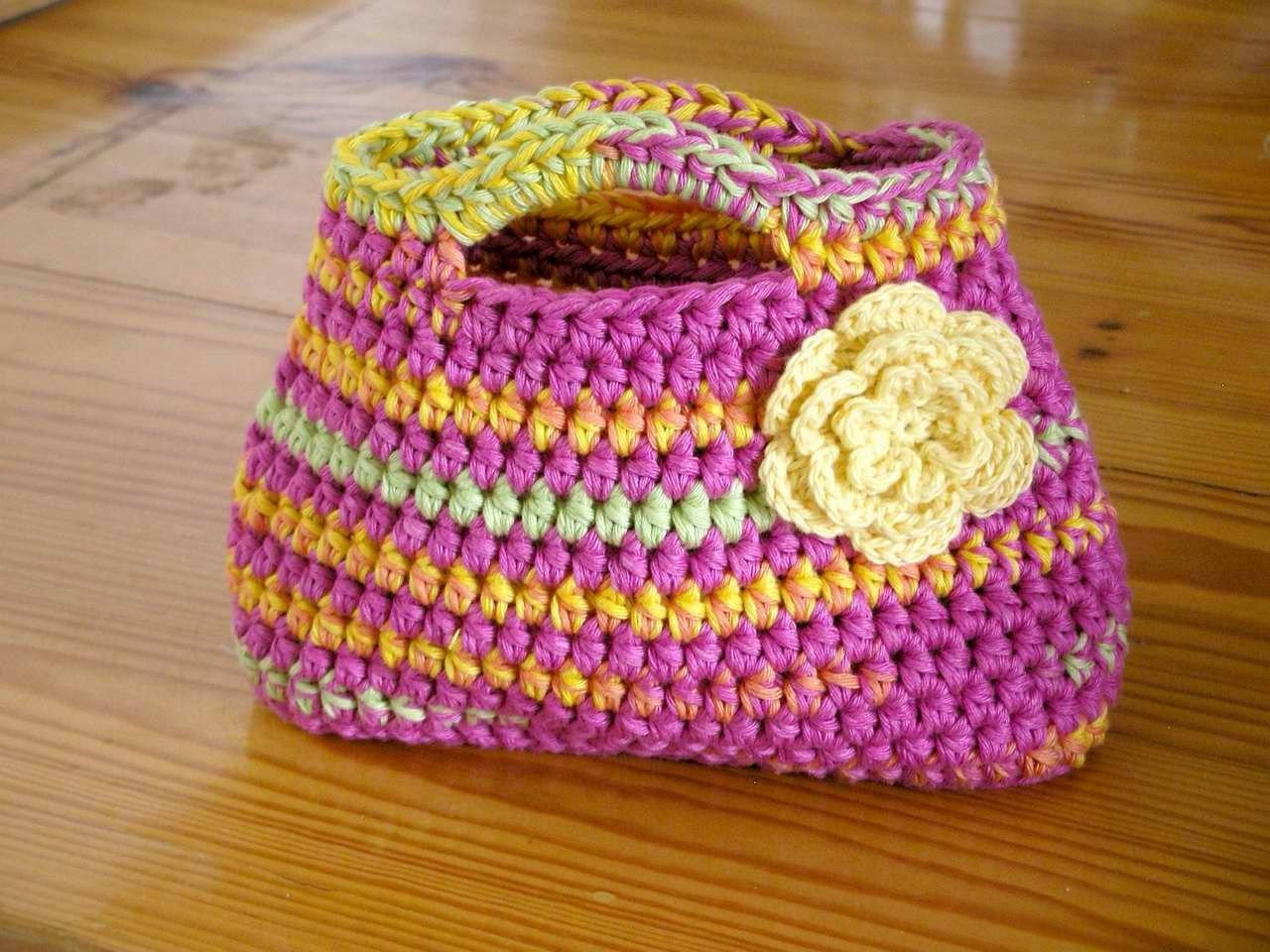 Simple Crochet Patterns Best Of Handbag Crochet Pattern Easy Peasy Little Kids Bag Crochet Of Delightful 49 Models Simple Crochet Patterns