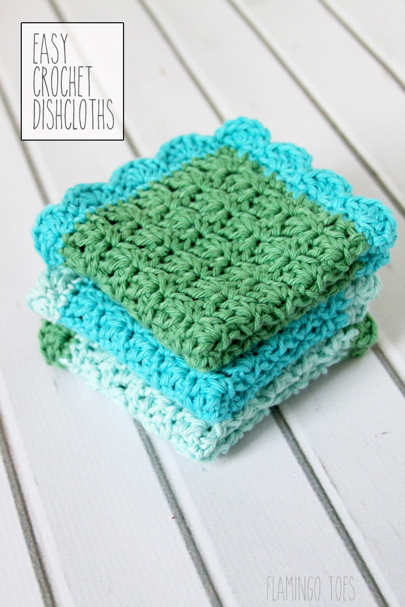 Simple Crochet Patterns Lovely Easy Crochet Dish Cloth Pattern Flamingo toes Of Delightful 49 Models Simple Crochet Patterns