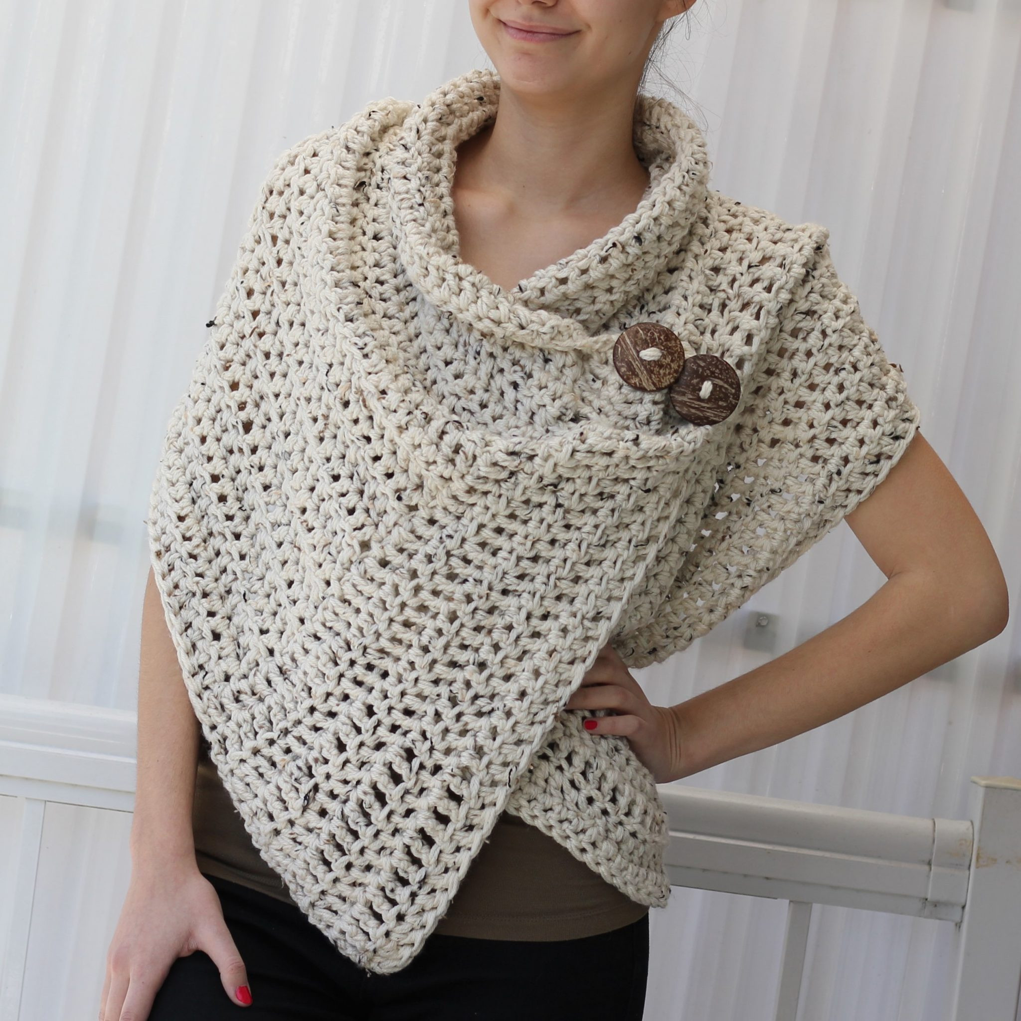 Simple Crochet Patterns Unique Azali Wrap – Crochet Pattern the Easy Design Of Delightful 49 Models Simple Crochet Patterns