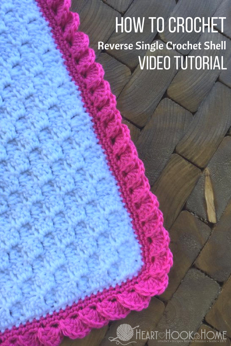 Single Crochet Patterns Fresh Reverse Shell Crochet Border Using Single Crochet Video Of Single Crochet Patterns New Easy Diy Crochet Hats 2 Ways