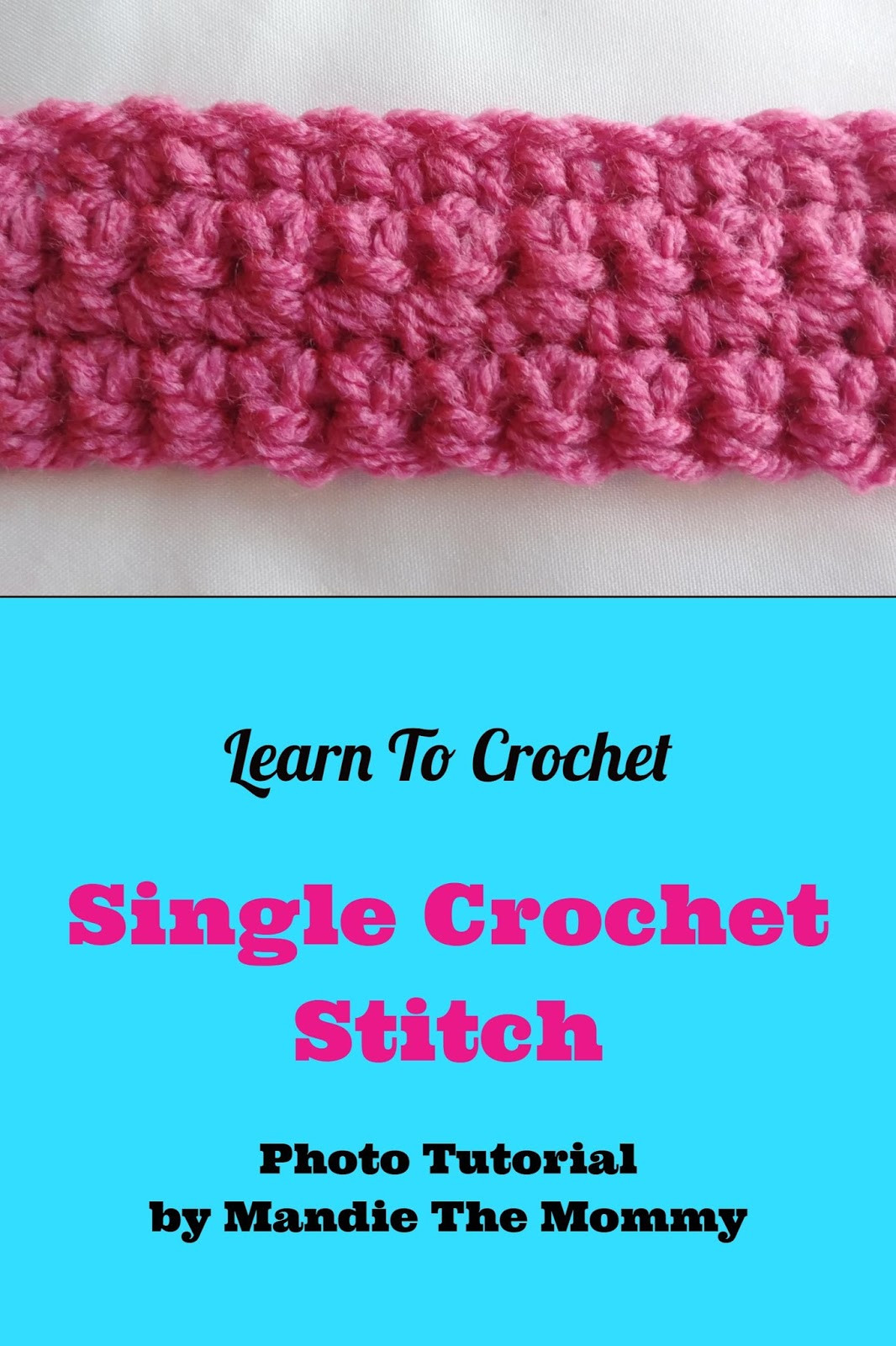 Single Crochet Stitch Awesome Introduction to Crochet Single Crochet and Slip Stitch Of Delightful 40 Pictures Single Crochet Stitch
