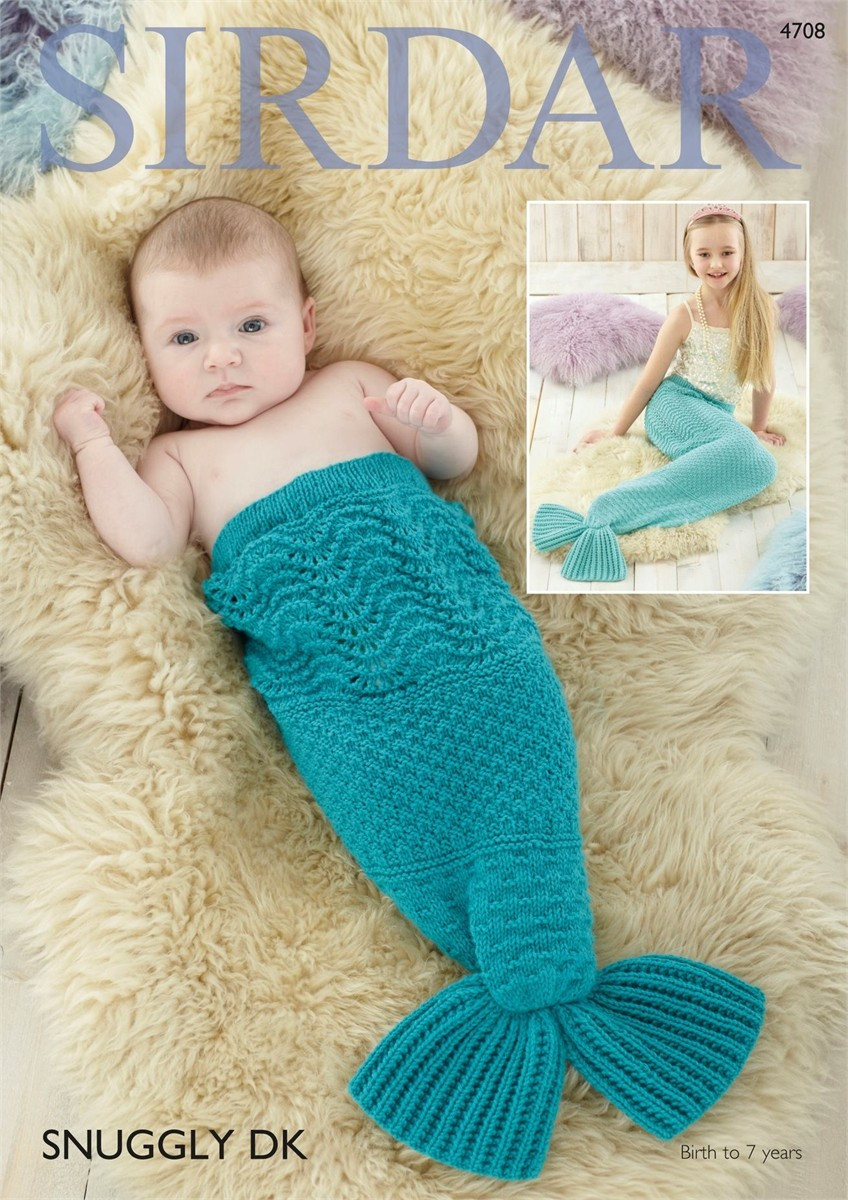 Sirdar Snuggly Luxury Sirdar Snuggly Dk Mermaid Tail Pdf Downloadable Pattern S4708 Of Top 49 Pics Sirdar Snuggly