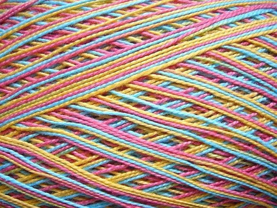 Size 10 Crochet Thread Awesome Variegated Rainbow Size 10 Crochet Cotton Thread by Of Luxury 49 Models Size 10 Crochet Thread