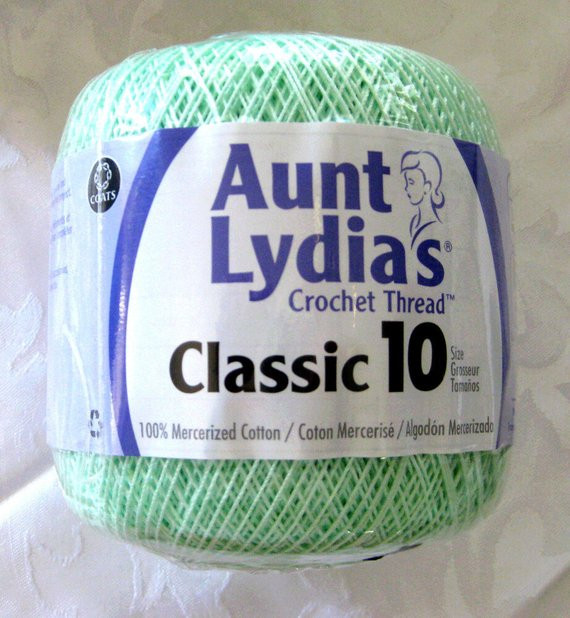 Size 10 Crochet Thread Best Of Crochet Cotton Thread Mint Green Size 10 Aunt by Crochetgal Of Luxury 49 Models Size 10 Crochet Thread