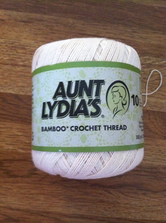 Size 10 Crochet Thread Elegant Aunt Lydia S Size 10 Crochet Thread Natural by Of Luxury 49 Models Size 10 Crochet Thread