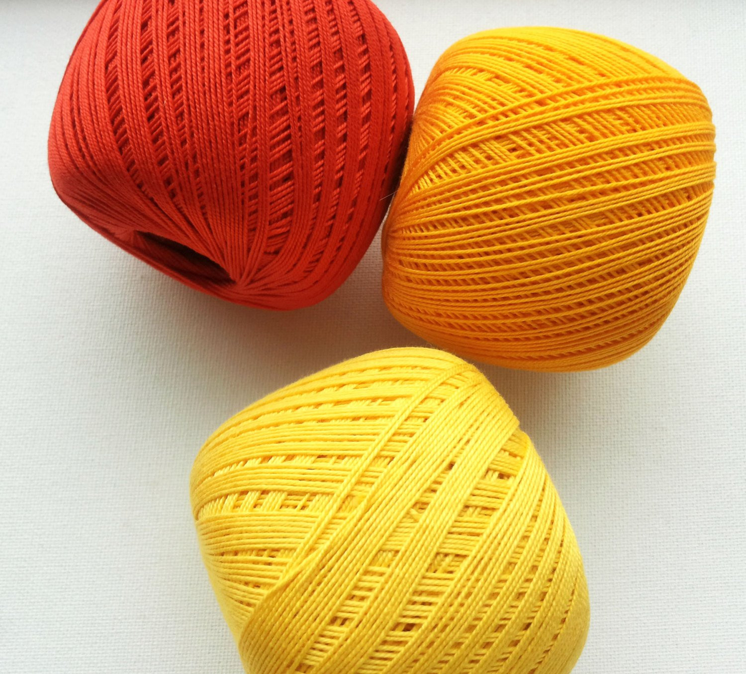 crochet cotton thread size 10 50g x 250m 3ply mercerized