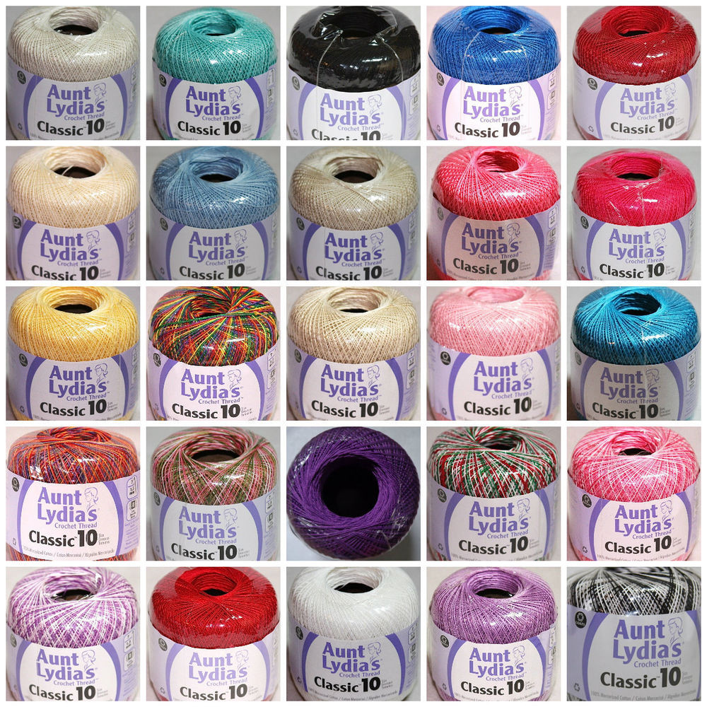 Size 3 Yarn Fresh Aunt Lydias Classic Crochet Thread Size 3 and 10 Select Of Amazing 40 Pictures Size 3 Yarn