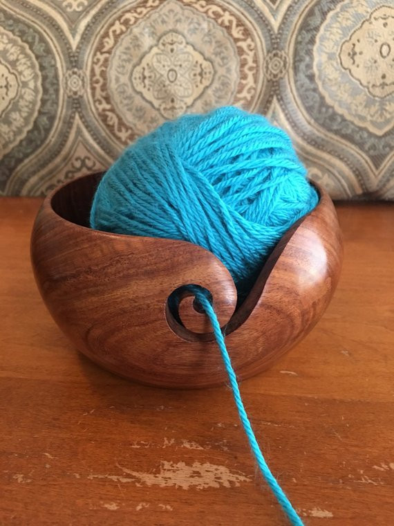 Size 6 Yarn Lovely Wooden Yarn Bowl Choose From 2 Sizes 6 Inch or 7 Inch Of Fresh 46 Pics Size 6 Yarn