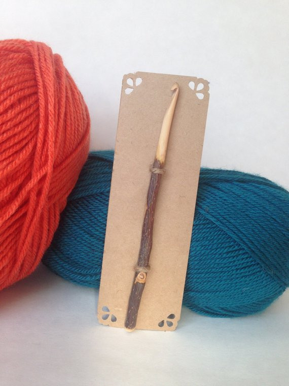 Size H Crochet Hook Fresh Size H 5mm Pioneer Style Wood Crochet Hook From Of Gorgeous 48 Pics Size H Crochet Hook