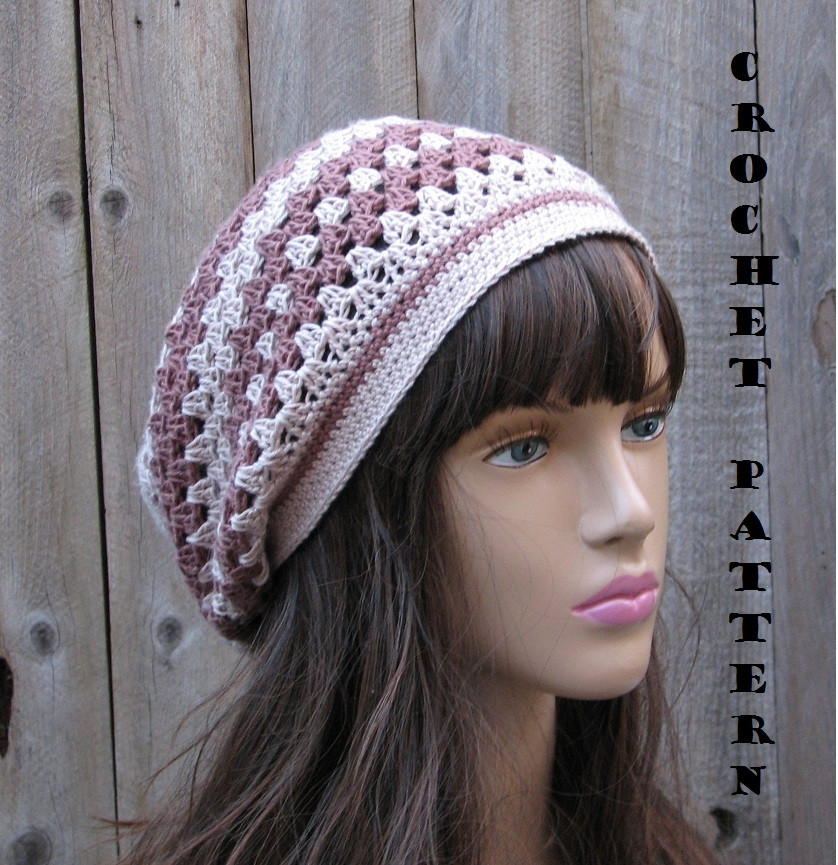 Slouch Hat Best Of Crochet Pattern Slouchy Spring Hat Crochet Pattern Pdf Of Top 49 Models Slouch Hat