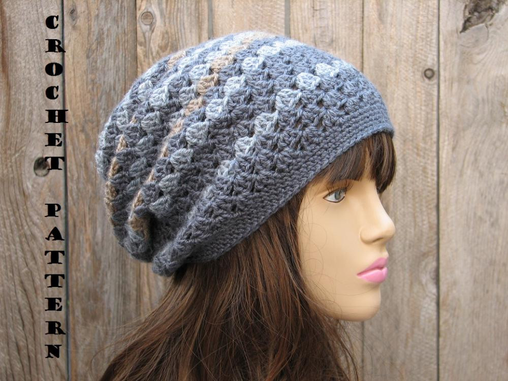 Slouch Hat Elegant Crochet Hat Slouchy Hat Crochet Pattern Pdf Easy Great Of Top 49 Models Slouch Hat