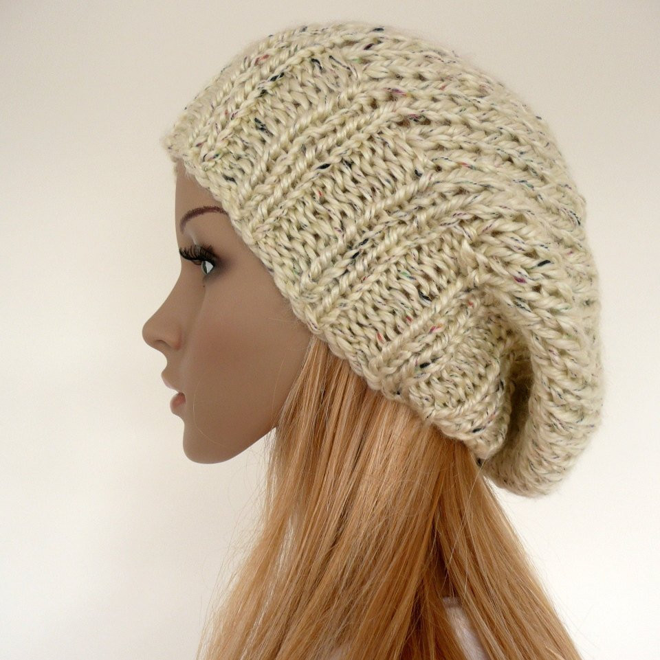 Slouch Hat Inspirational Knit Slouchy Hat Slouch Beanie Cream Slouchy Hat Womens Hat Of Top 49 Models Slouch Hat
