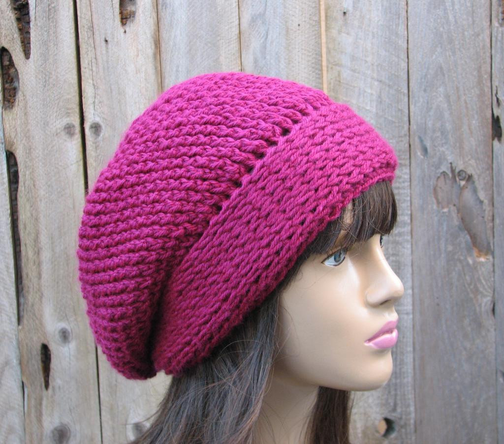 Crochet Slouchy Hat Patterns For Beginners