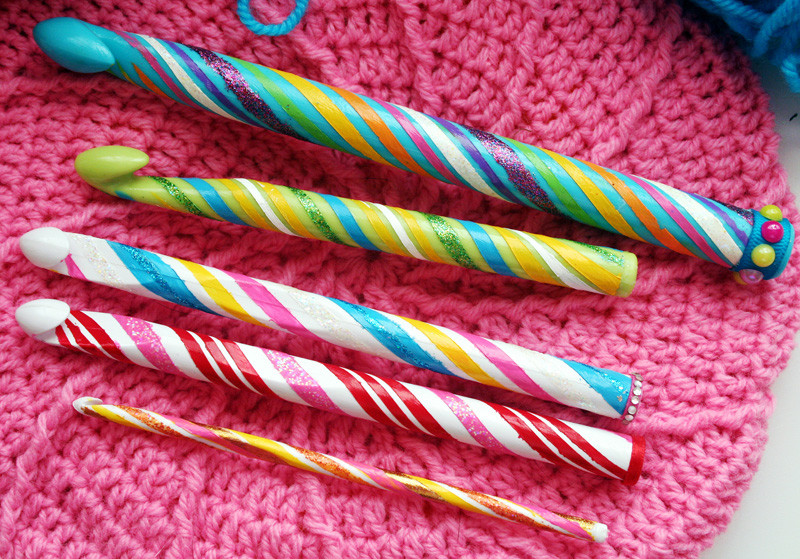Crocheting with Candy