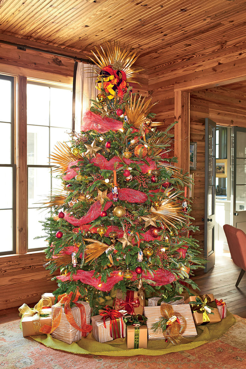 Small Decorated Christmas Trees Awesome Christmas Tree Decorating Ideas southern Living Of Charming 48 Models Small Decorated Christmas Trees