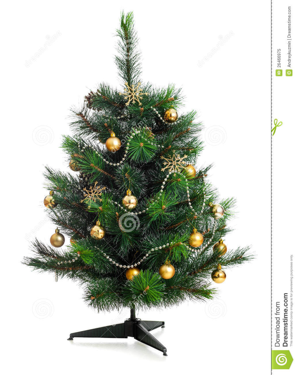 Small Decorated Christmas Trees Beautiful Small Decorated Christmas Tree isolated Stock Image Of Charming 48 Models Small Decorated Christmas Trees