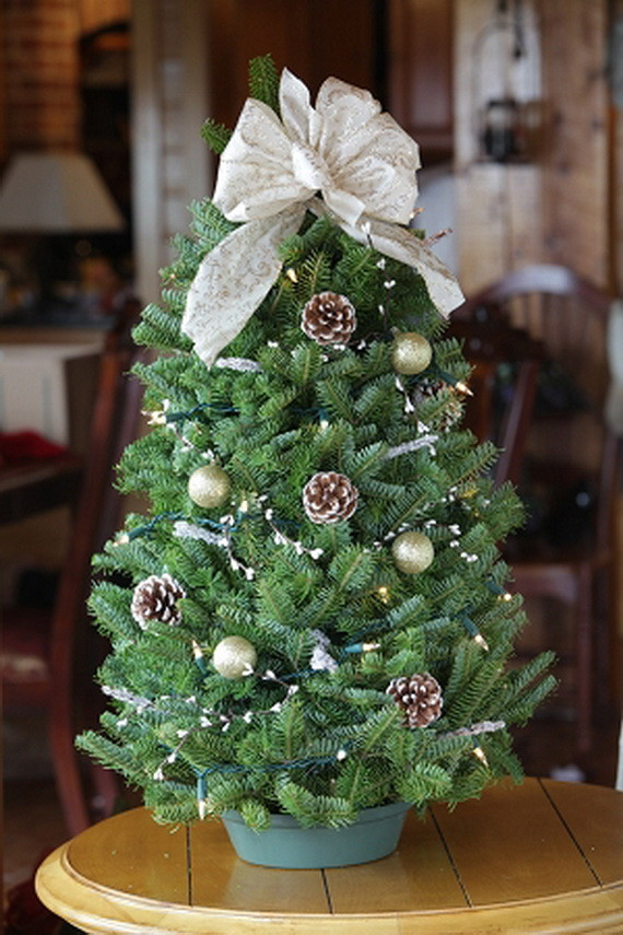 Small Decorated Christmas Trees Best Of Miniature Tabletop Christmas Tree Decorating Ideas Of Charming 48 Models Small Decorated Christmas Trees