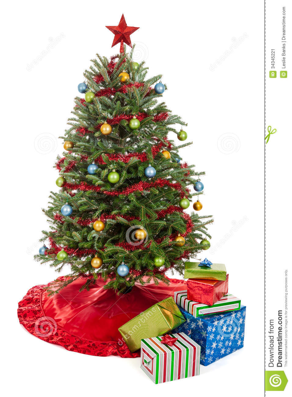 Small Decorated Christmas Trees Elegant Christmas Tree with Presents Stock Image Image Of Charming 48 Models Small Decorated Christmas Trees