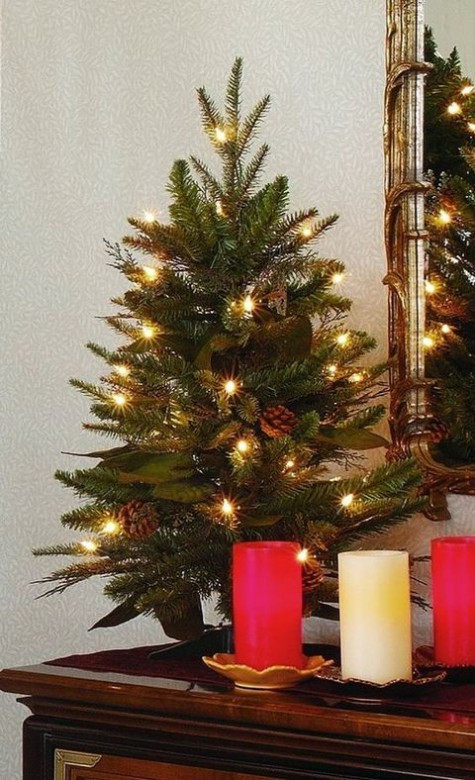 Small Decorated Christmas Trees Inspirational 52 Small Christmas Tree Decor Ideas Of Charming 48 Models Small Decorated Christmas Trees