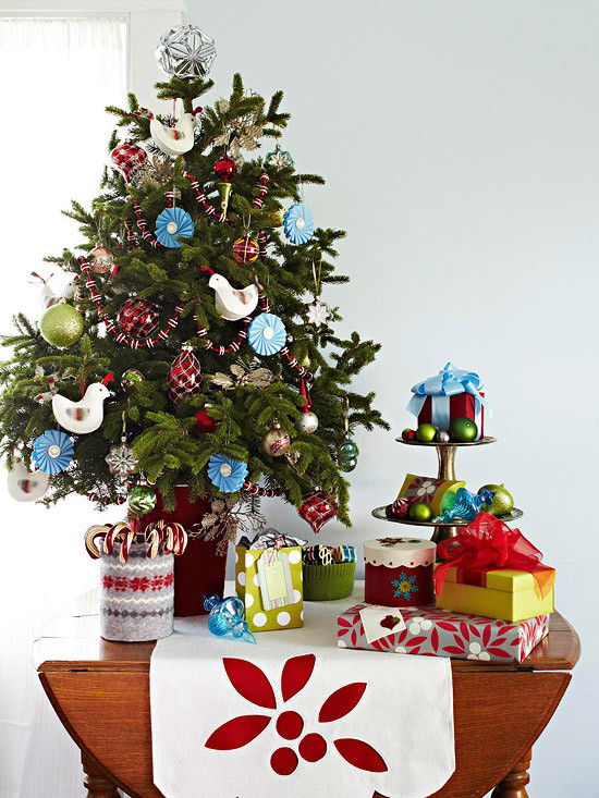 Small Decorated Christmas Trees Inspirational Small & Festive Christmas Trees Ideas for Christmas Of Charming 48 Models Small Decorated Christmas Trees