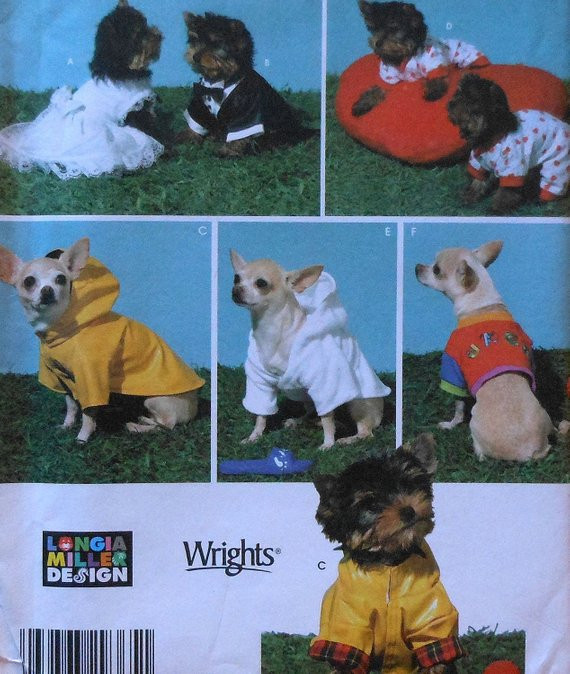 Small Dog Clothes Patterns Beautiful Extra Small Dog Clothes Sewing Pattern Uncut by Of Contemporary 43 Ideas Small Dog Clothes Patterns