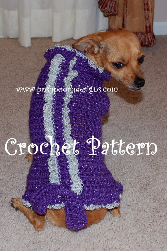 Small Dog Clothes Patterns Best Of Instant Download Crochet Pattern Princess and Prince Dog Of Contemporary 43 Ideas Small Dog Clothes Patterns