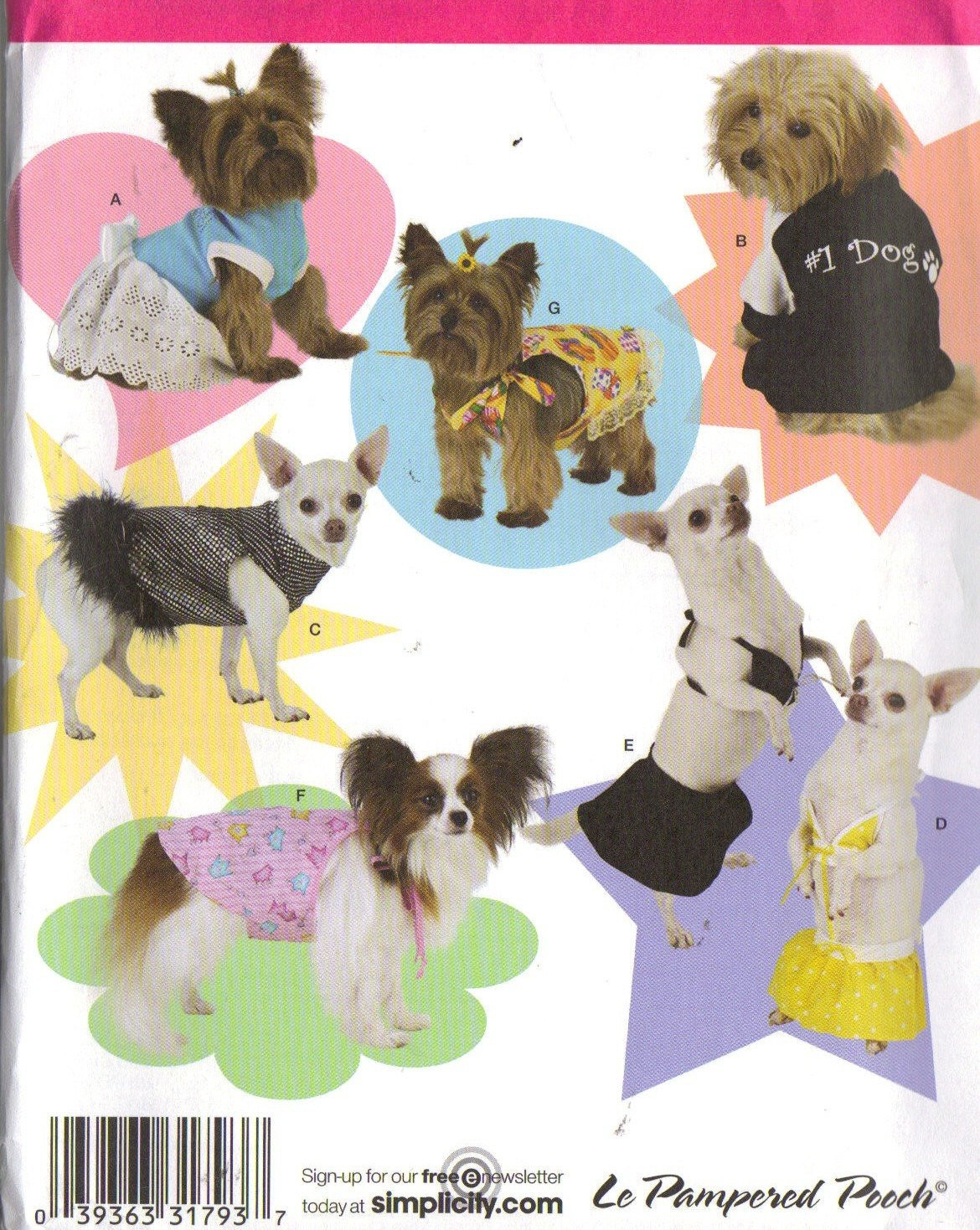 Small Dog Clothes Patterns Fresh Dog Clothes Pattern Size Small and Extra Small 7 Outfits I Of Contemporary 43 Ideas Small Dog Clothes Patterns