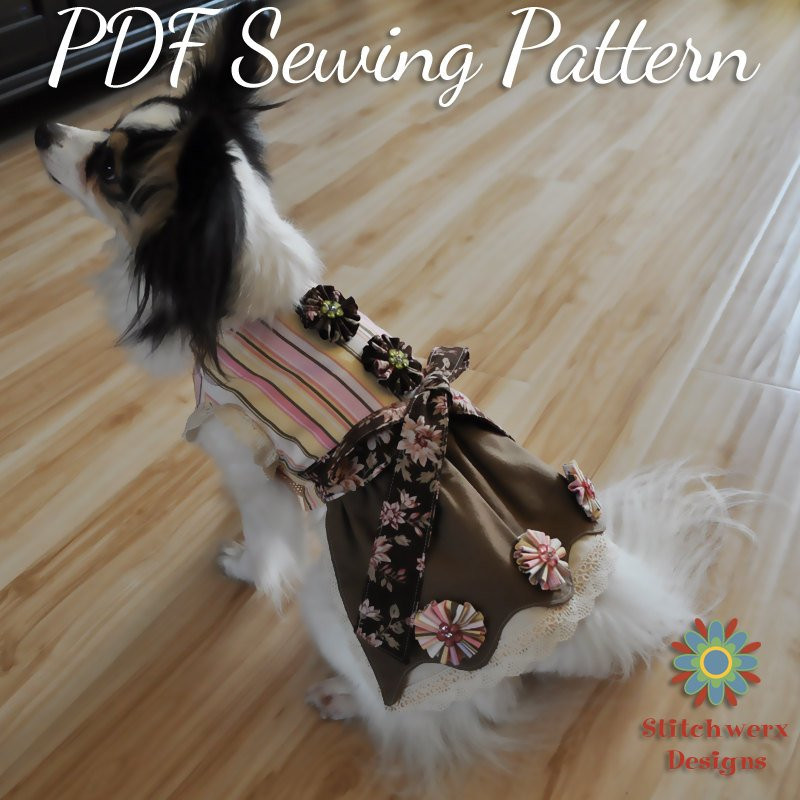 Small Dog Clothes Patterns Luxury Small Dog Dress Pattern Small Dog Clothes Sewing Pattern Of Contemporary 43 Ideas Small Dog Clothes Patterns