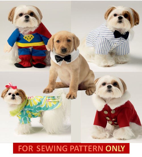 Small Dog Clothes Patterns New Retired Sewing Pattern Make Dog Clothes Superman Dress Of Contemporary 43 Ideas Small Dog Clothes Patterns