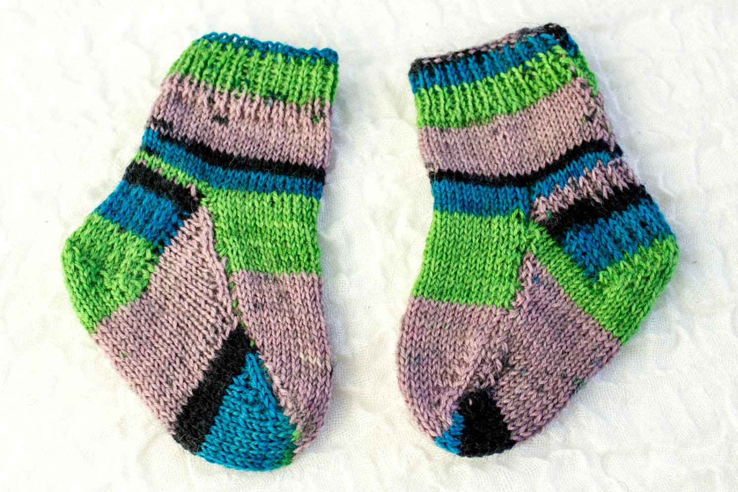 Sock Knitting Pattern Beautiful Knitting Pattern Two Needle Baby socks Flat sock Of Unique 41 Photos sock Knitting Pattern