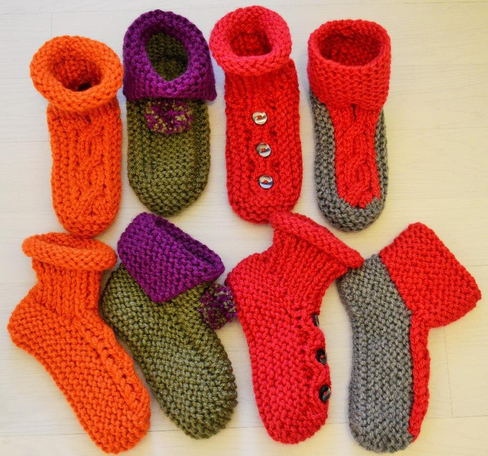 Sock Knitting Pattern Lovely Chunky Slipper socks 4 Styles Knitting Pattern by Of Unique 41 Photos sock Knitting Pattern