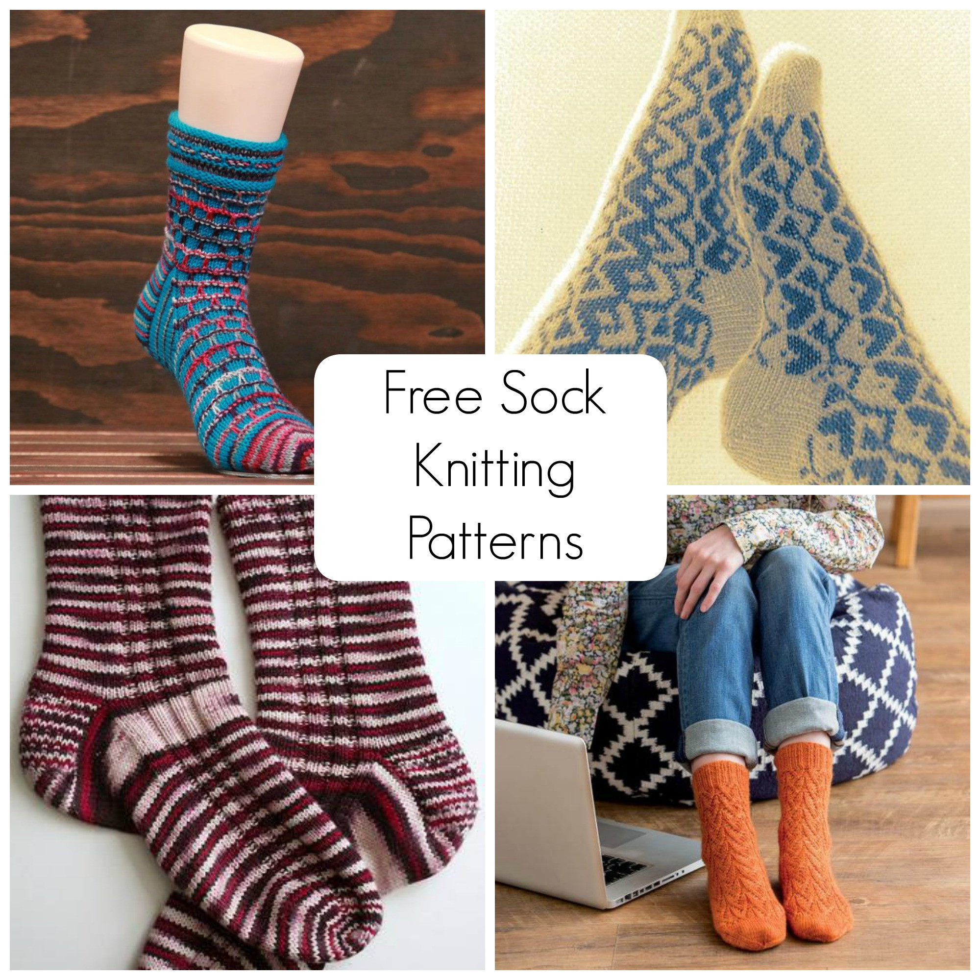 Sock Knitting Pattern Luxury Free sock Knitting Patterns to Download On Craftsy Of Unique 41 Photos sock Knitting Pattern