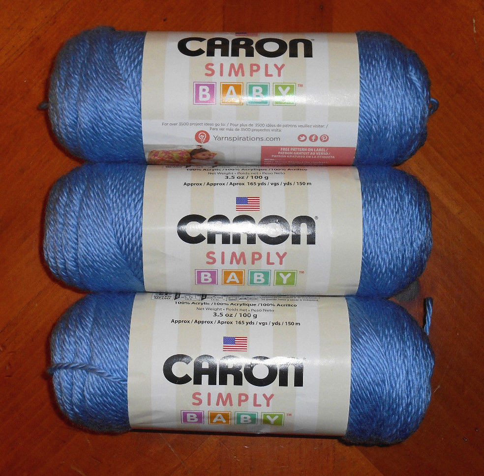 Soft Baby Yarn New Caron Simply soft Baby Yarn Lot 3 Skeins My Prince Of Perfect 42 Images soft Baby Yarn