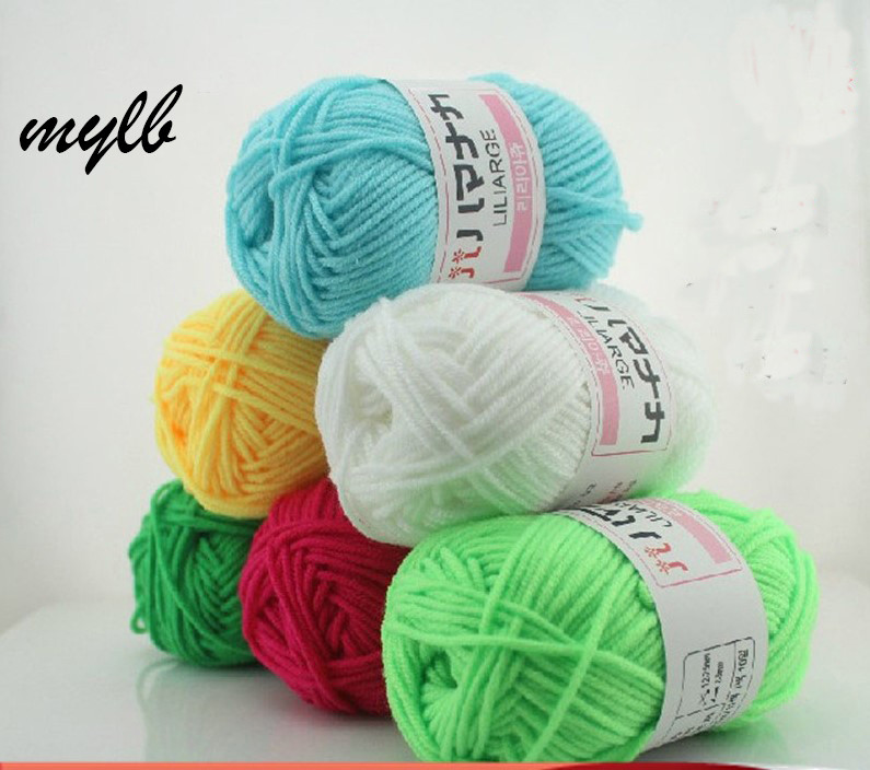 Softest Yarn for Crochet Beautiful Mylb wholesale 20balls=500g Natural soft Natural Import Of Charming 43 Images softest Yarn for Crochet