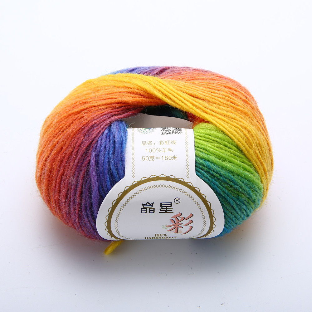Softest Yarn for Crochet Beautiful soft Cashmere Baby Wool 50g Ball Rainbow Colorful Knitting Of Charming 43 Images softest Yarn for Crochet