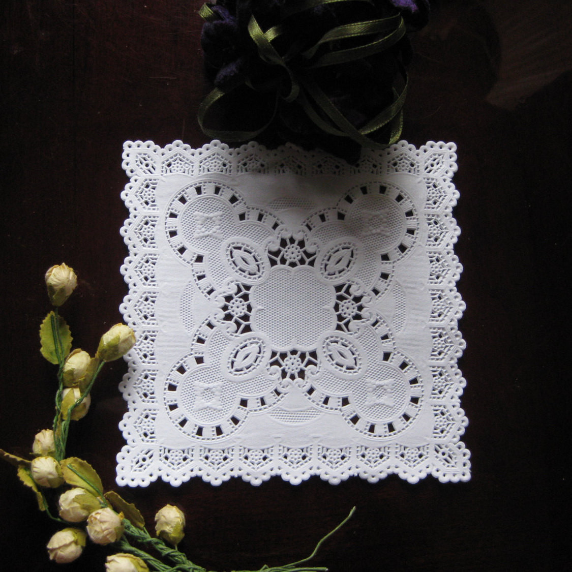 Square Doilies Beautiful 5 Inch White Paper Lace Square Doilies Victorian Motif Of Lovely 50 Pictures Square Doilies