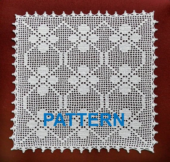 Square Doilies Elegant Crochet Pattern Vintage Doilies Digital Doily Square Napkin Of Lovely 50 Pictures Square Doilies