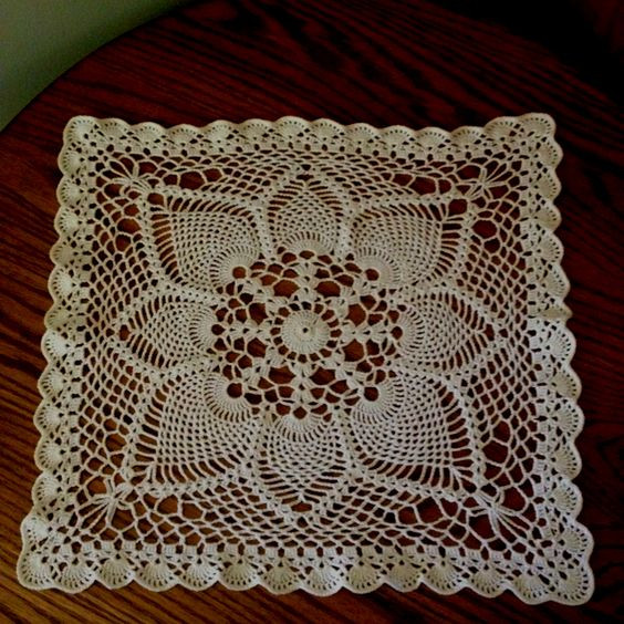 Square Doilies Fresh Square Crochet Doily Maybe for Nightstands Of Lovely 50 Pictures Square Doilies