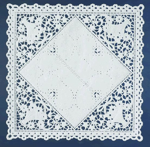 Square Doilies Lovely Basket Lace Square Paper Doilies Royal Lace Of Lovely 50 Pictures Square Doilies