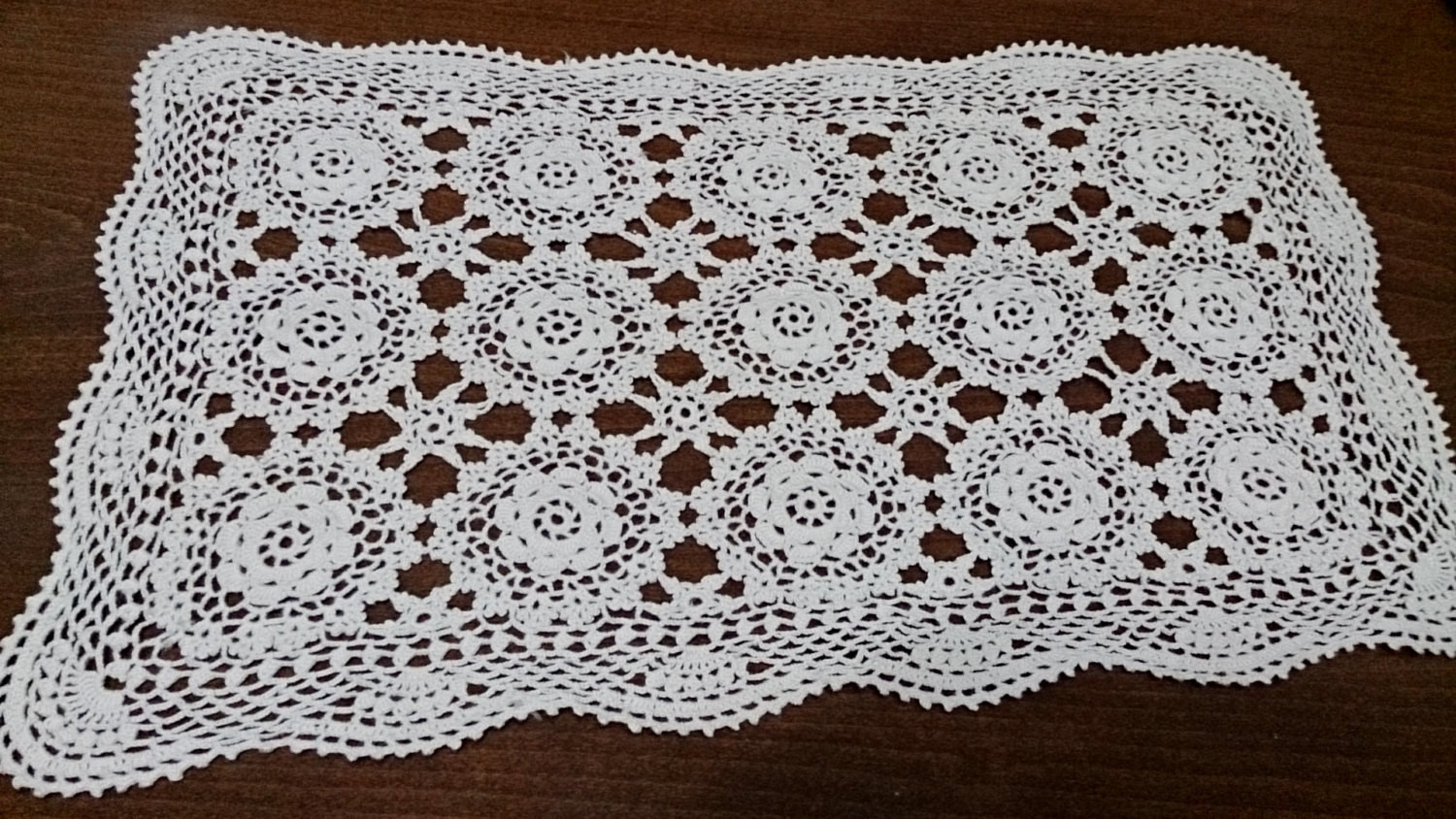 Square Doilies Lovely Vintage Doily Crocheted Rectangular Doily or Table Of Lovely 50 Pictures Square Doilies