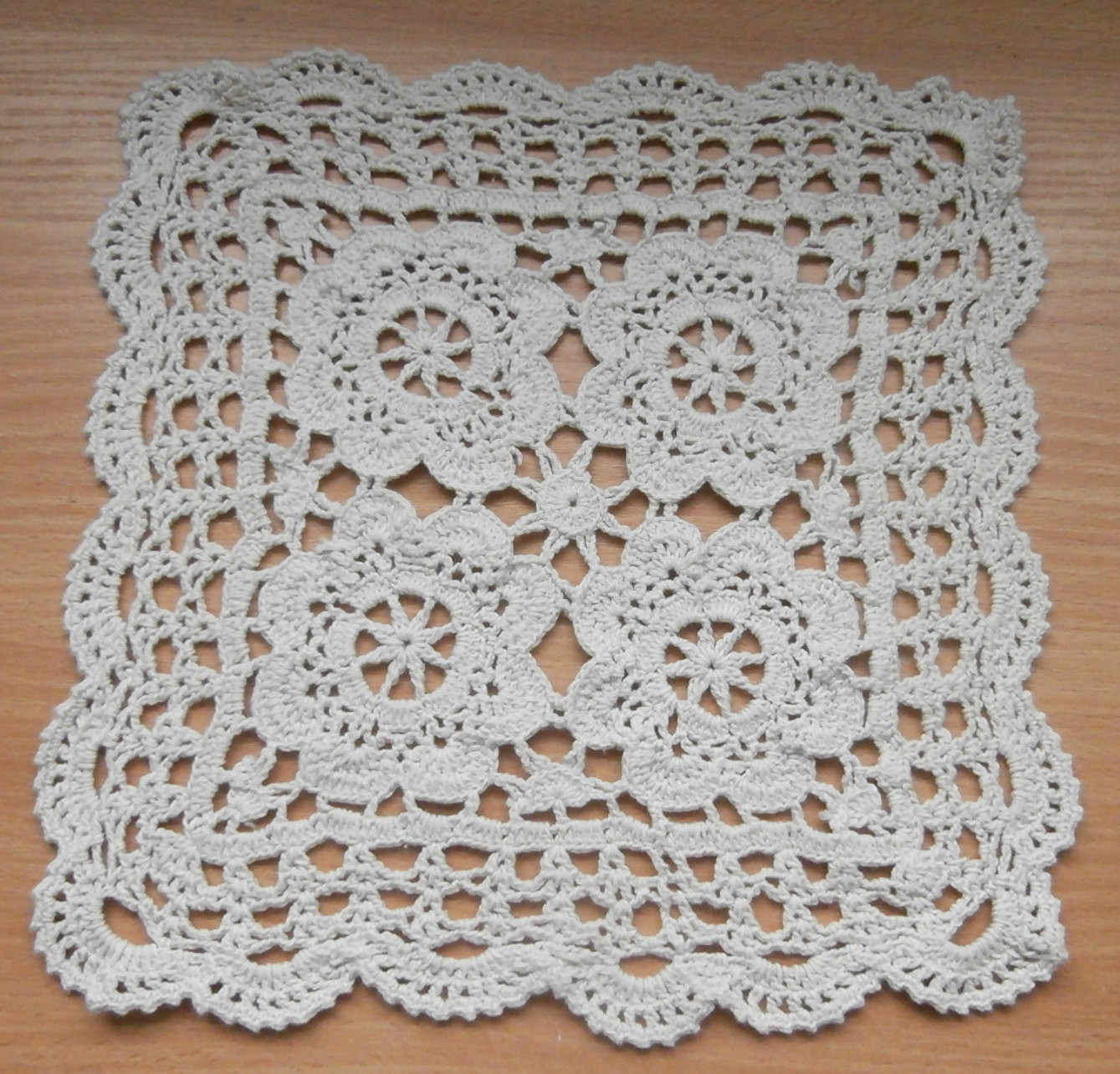 Square Doilies Luxury Ecru Beige Doily Square Crochet Doily 9 5×9 5 Inches Home Of Lovely 50 Pictures Square Doilies