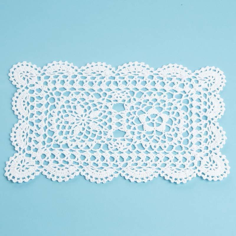 Square Doilies New Rectangular White Crocheted Doily Crochet and Lace Of Lovely 50 Pictures Square Doilies