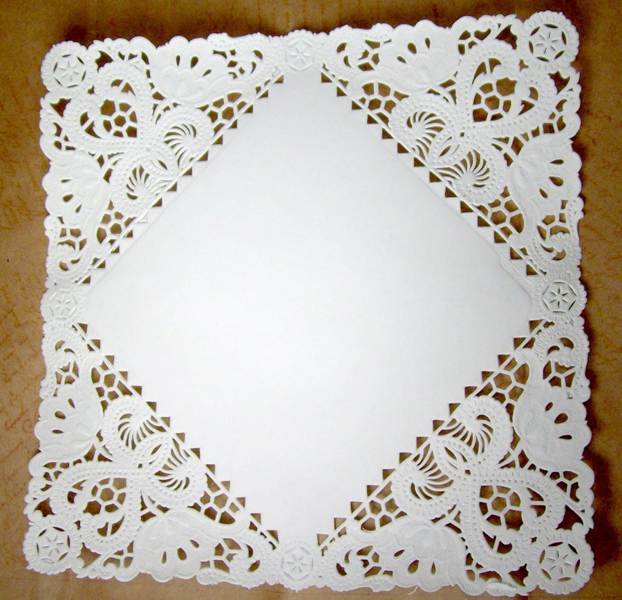 Square Doilies New Square Paper Doilies 50 Doilies 8 Inch White Of Lovely 50 Pictures Square Doilies
