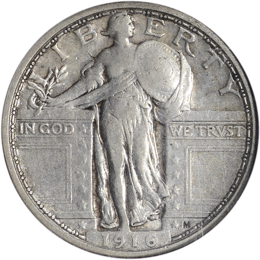 Standing Liberty Quarter Best Of 1916 Us Standing Liberty Silver Quarter 25c Ngc Vf35 Of Incredible 50 Pictures Standing Liberty Quarter
